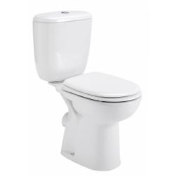 Pack WC Réhaussé AVERIO Réservoir 3 / 6 L Monté N F + Abattant