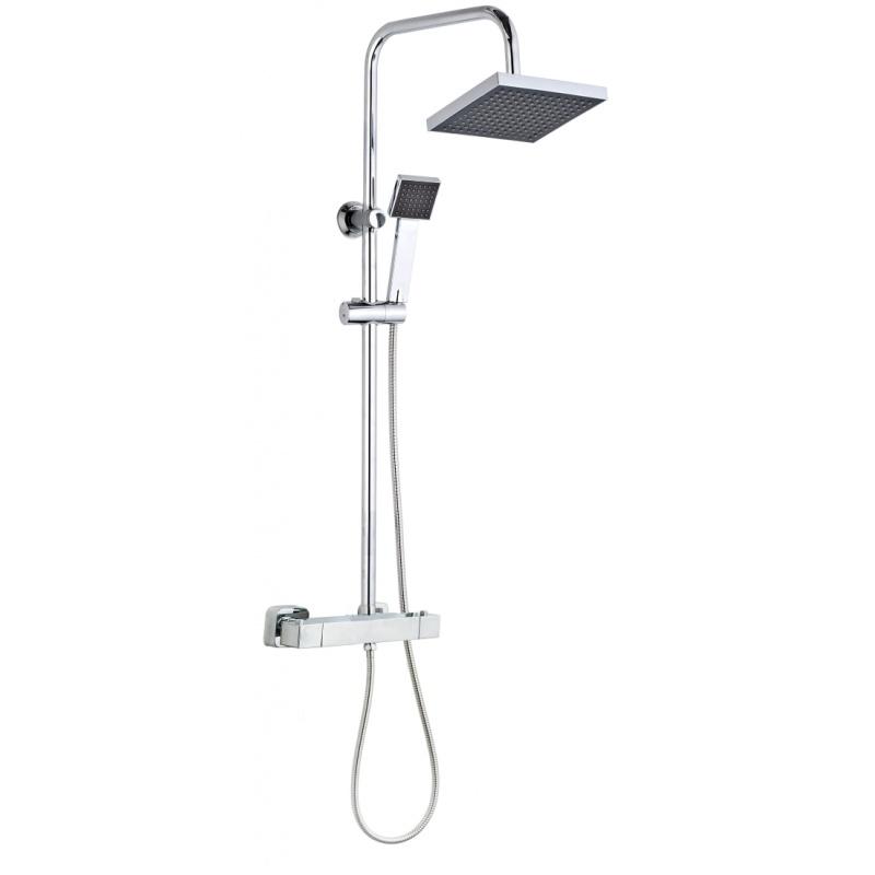 Colonne de douche celo mitigeur thermostatique h 950 mm discount negoce com - Colonne de douche discount ...