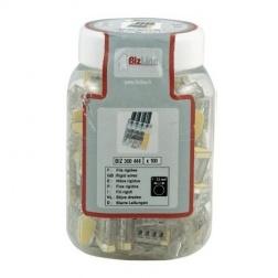 Connecteur Rapide WAGO 0.5 à 2.5 mm - 3 Poles - Bte 100