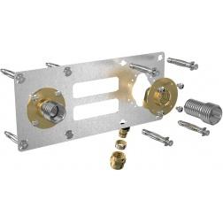 Robifix pour cloison sèche PER Ø 12 à compression entraxe 150 mm