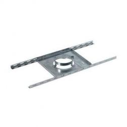 Support plancher Galva Ø 80 / 130