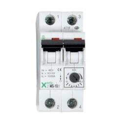 Disjoncteur moteur Bipolaire 4 à 6.3 A