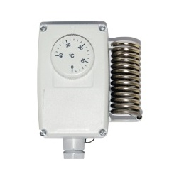 Thermostat Etanche pour chauf & froid TAC32 - Plage de réglage de +0° à +60° sonde Ø 6 x 119 mm 0.90 m