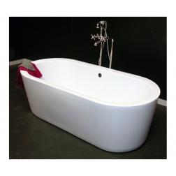 Baignoire 1700 x 800 mm Acrylique renforcé Ep 3.5 mm OLERON Blanc