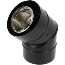 Coude 45 ° concentrique BIOTEN Ø 80 / 125 mm