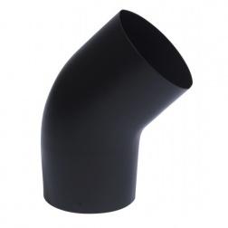 Coude 45° Noir Mat Ø 125