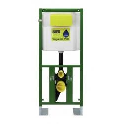 Bati support WC Autoportant VIEGA Complet - code 596378 avec plaque blanche