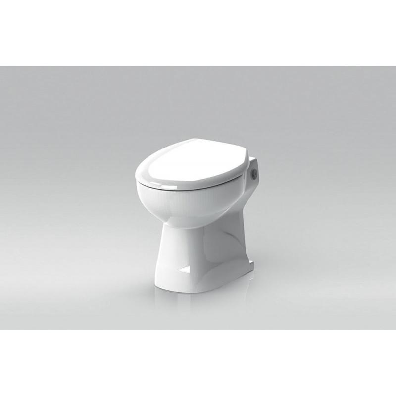 cuvette wc w 20 sp broyeur monobloc au sol blanc. Black Bedroom Furniture Sets. Home Design Ideas