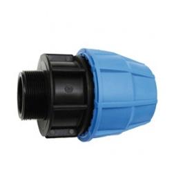 Raccord PVC tube PE Ø 25 Mâle 20/27