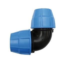 Coude 90° PVC tube PE Ø 25
