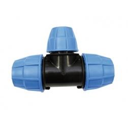 Té PVC tube PE Ø 50