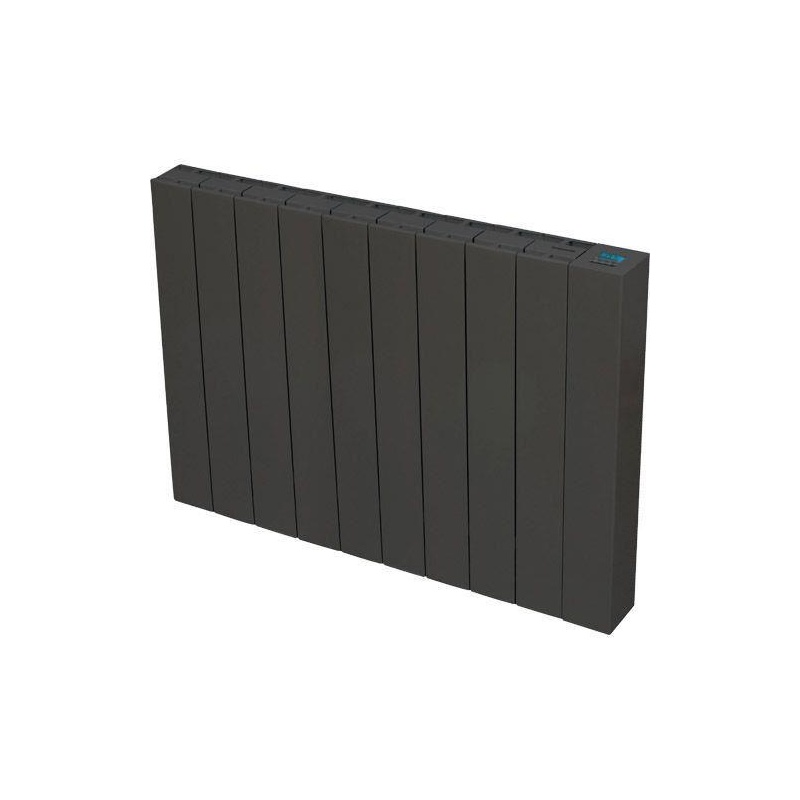 radiateur inertie c ramique mida anthracite 1500 w discount negoce com. Black Bedroom Furniture Sets. Home Design Ideas