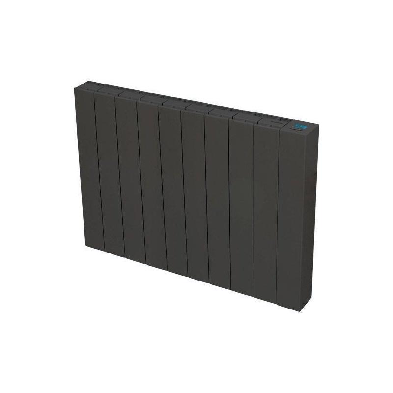 radiateur inertie c ramique mida anthracite 1500 w. Black Bedroom Furniture Sets. Home Design Ideas