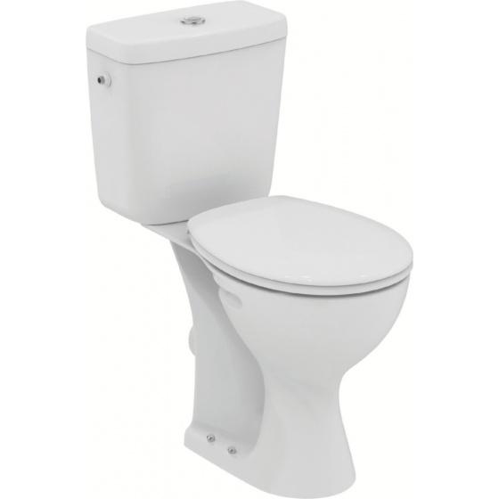 Pack WC ULYSSE Réhaussée H 470 mm Blanc - E 9057 01