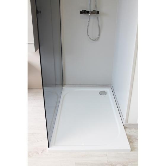 Receveur HESTIA en beton de synthese 1200 X 800 mm Blanc
