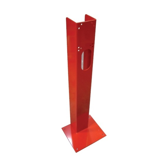 Support de R I A pour fixation au sol Ht 1250 mm