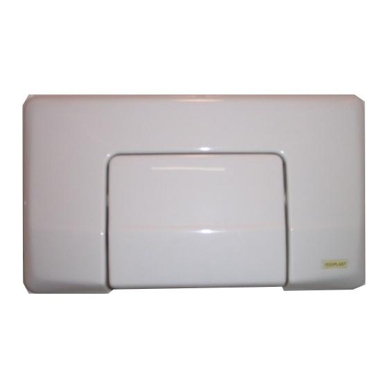Plaque de Cde Interrompable Blanche pour Réservoir 600 - 620