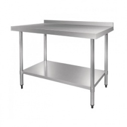 Table INOX de préparation Larg 700 - Long 1200