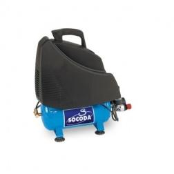 Compresseur d'air à entrainement direct sans huile 6L - 1.5C