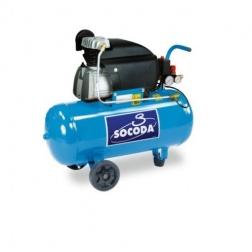 Compresseur d'air à entrainement direct lubrifié 50 L - 2CV