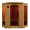 Sauna à infrarouge Bois Canada Hemlock 2430 w 3/4 Pers