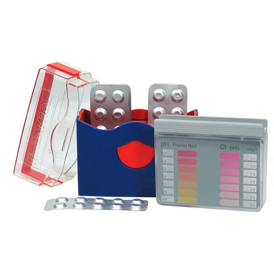 Trousse Analyse Pastille CHLORE / BROME - pH -
