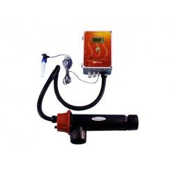 Réchauffeur électrique Thermostat Digital Titane 9 kW Mono