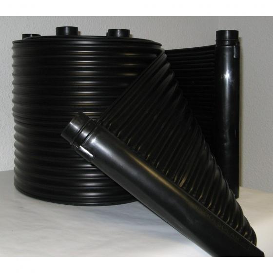 Kit Chauffage Solaire de 4 m2 tuyau en Polypropylene