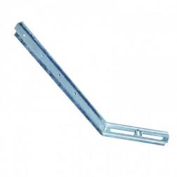 Hampe Réglable nervurée Long 250 mm