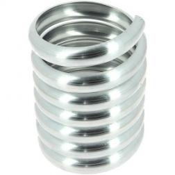 Bague Spirale Zinc à Bord DN 80 - 300 gr Pièce