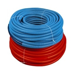 Tube Prégainé Isolé P E R Rouge Ø 13 X 16 simple - Rlx 50 m