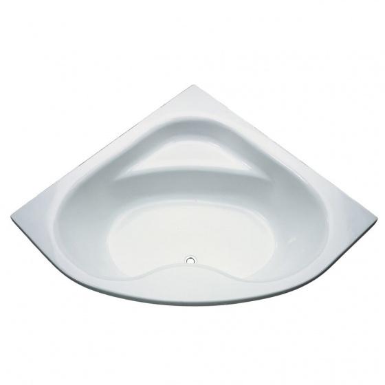 Baignoire ULYSSE d''angle 135 X 135 - Blanc - P 1071 01'