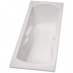 Baignoire acrylique ULYSSE 2 - 160 x 75 Blanc - P 1158 01