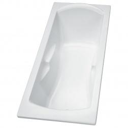 Baignoire acrylique ULYSSE PORCHER blanc 170 x 70 P1062 01