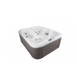 SPA MAGUANA 64 Jets Inox 220 x 220 x 96 - 3 assises 2 allongees