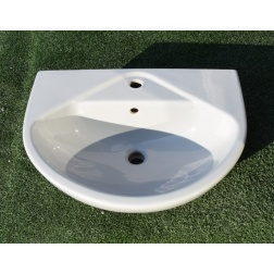 Lavabo 60 X 49 Colonne KHEOPS 2 Gris Manhattan - P1500 06