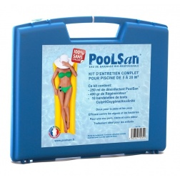 Traitement POOLSAN kit Piscine de 5 à 20 m3