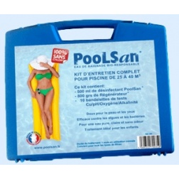 Traitement POOLSAN kit Piscine de 25 à 40 m3