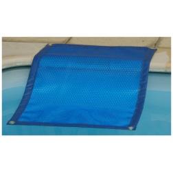 Couverture Solaire Bleu / Bleu 400 µ Forme 1 Bordée 4 cotés