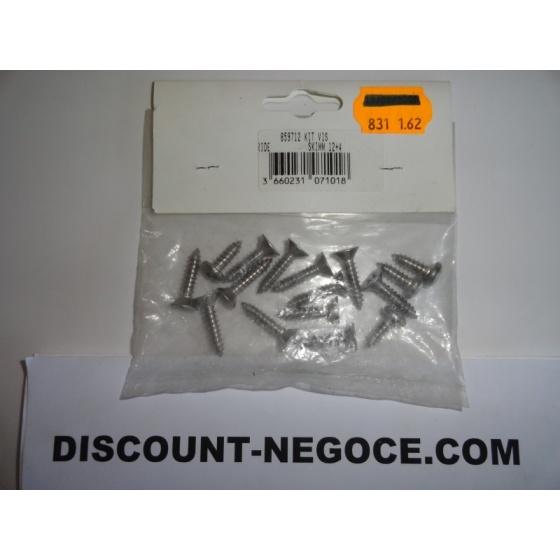 Kit Visserie Inox pour Skimmer HAYWARD 1084 - 859712