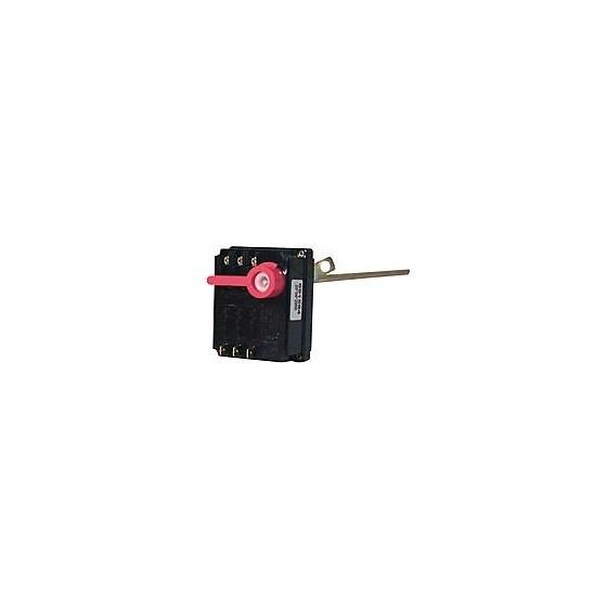 Thermostat TSA TF 450 mm Levier rouge - 703620