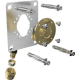 Robifix pour cloison seche F1/2 PER Ø 16 mm 1 trou à Compression