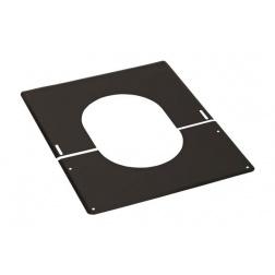 Plaque de finition Noir de 0 à 30 ° - Ø 80 mm