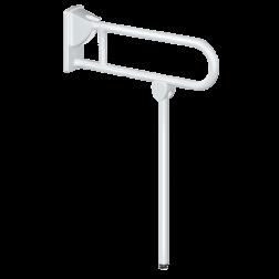 Poigné relevable pour WC & Douche Ø 32 mm + Béquille