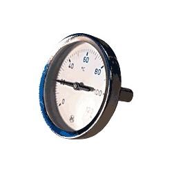 Thermomètre plongeur Axial 0 à 120° Horizontal Ø 15x21 F