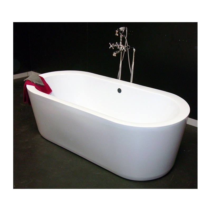 baignoire 1700 x 800 mm acrylique renforc ep 3 5 cm oleron blanc discount negoce com. Black Bedroom Furniture Sets. Home Design Ideas