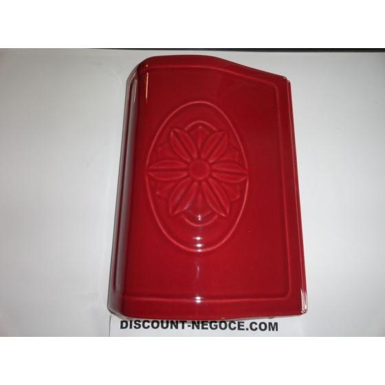 Flanc lateral Céramique Rouge pour Rose & Ecoidro 262370