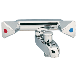 Mélangeur Bain / Douche entraxe 80 mm F 3/8Compatible Porcher serie Ambre