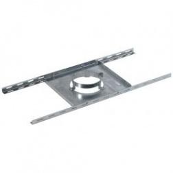 Support plancher galvanisé Ø 80 / 125 mm
