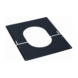 Plaque de finition Noir de 0 à 30 ° - Ø 180 mm - 482118